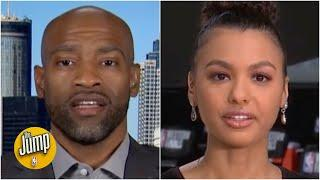 NBA players weren't surprised by the decision in Breonna Taylor's case - Malika Andrews | The Jump