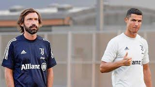 ANDREA PIRLO MEETS HIS JUVENTUS SQUAD   First Training Session