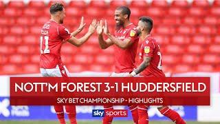 Lewis Grabban brace helps fire Forest into fourth! | Nott'm Forest 3-1 Huddersfield | EFL Highlights