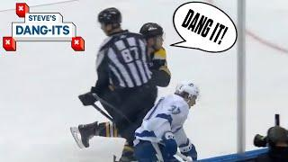 NHL Worst Plays Of The Week: Get Out Of The Way Ref! | Steve's Dang-Its