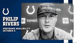 Philip Rivers Postgame Press Conference: Colts At Bears