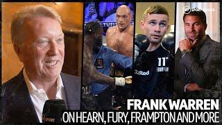 Frank Warren says Tyson Fury doesn't want to wait for Wilder trilogy and could fight AJ this year!