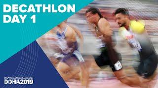 Decathlon Day 1 | World Athletics Championships Doha 2019