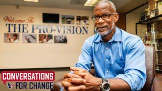 Roynell Young Is Transforming Lives in Houston w/ Education   Texans Conversations for Change