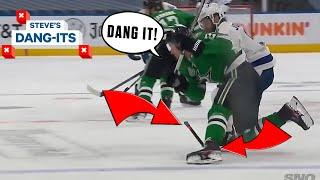 NHL Worst Plays Of The Week: How's That Not A TRIP!? | Steve's Dang-Its