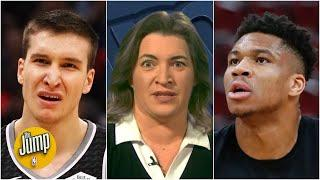 How the Bogdan Bogdanovic trade fell apart and what it means for Giannis and the Bucks | The Jump