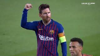 The Magic of Messi in Slow-Motion!  | Champions League goals and skills
