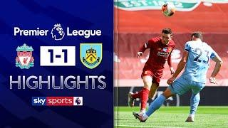 Liverpool's Anfield record ended by Burnley draw | Liverpool 1-1 Burnley | Premier League Highlights
