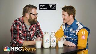 IndyCar's Scott Dixon joins Rutledge Wood for Questions in a Milk Bottle | Motorsports on NBC