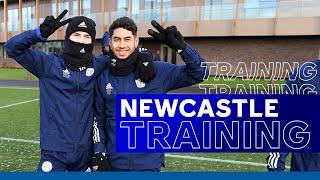 Seagrave Training For The Foxes Before Newcastle | Newcastle United vs. Leicester City | 2020/21