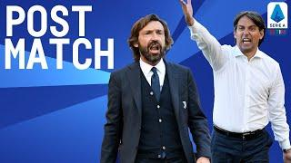 Lazio 1-1 Juventus | Pirlo and Inzaghi Post Match Press Conference | Serie A TIM
