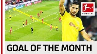 Emre Can - February 2020's Goal of the Month Winner