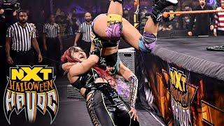 Shirai vs. LeRae – NXT Women's Title Tables, Ladders & Scares Match: Halloween Havoc, Oct. 28, 2020