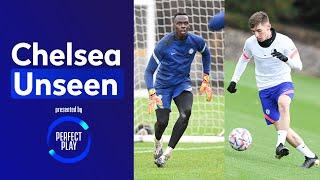 Bill Gilmour Doing Billy Gilmour Things & Mendy Unbeatable In Training   Chelsea Unseen
