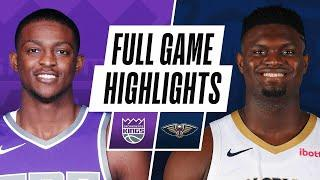 KINGS at PELICANS | FULL GAME HIGHLIGHTS | February 1, 2021