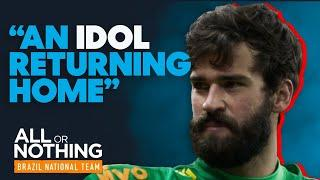The Prodigal Son Returns   Brazil Have an Open Training Session at Alisson's Old Club Internacional