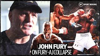 Explosive Interview! John Fury On Tyson Fury v Anthony Joshua Collapse And Deontay Wilder Trilogy