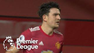 Harry Maguire heads Man United level with Blades | Premier League | NBC Sports