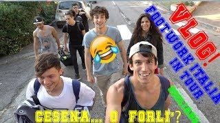 2 Vlog Freestyle epico! Forlì diventa Freestyle mix! Footwork in Sogliano