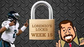 The Eagles are a lock for NFL Week 15 | Lorenzo's Locks