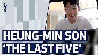 THE LAST FIVE | A look inside Heung-min Son's mobile phone! BTS, Bieber & Spurs group chat!