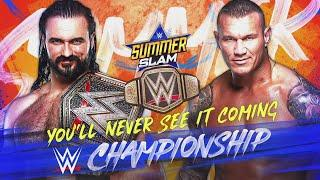 Drew McIntyre and Randy Orton set for WWE Title clash at SummerSlam