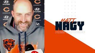 Matt Nagy: Trubisky to start vs Packers | Chicago Bears