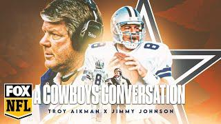A Cowboys Thanksgiving: Troy Aikman, Jimmy Johnson talk life, family, and America's Team | FOX NFL