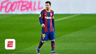 'Disappearing' Lionel Messi is just not giving enough to Barcelona - Laurens | ESPN FC