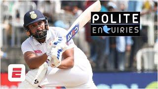 Is Rohit Sharma the Bradman of the sub-continent?! | #PoliteEnquiries | India vs. England 2nd Test