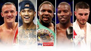 ANNOUNCED! | Sky Sports & Matchroom's boxing schedule for early 2021