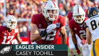 Casey Toohill Talks Adjusting to NFL During a Virtual Offseason | Eagles Insider
