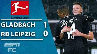 RB Leipzig falls out of first with loss to Borussia Monchengladbach   ESPN FC Bundesliga Highlights