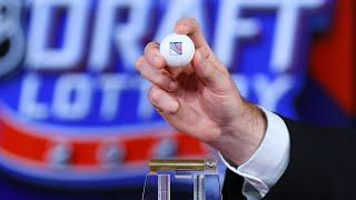 The New York Rangers win the 2020 NHL Draft Lottery