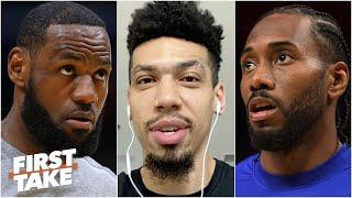 Lakers' Danny Green on how to stop the Clippers & the NBA returning | First Take