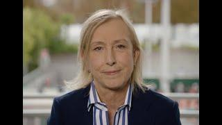 Martina Navratilova Launches WTA Charities' Aceing Cancer Campaign
