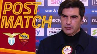 LAZIO-ROMA POST MATCH | Paulo Fonseca