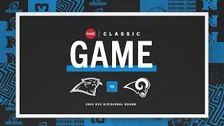 Classic Game: 2003 NFC Divisional Round