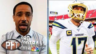 Rodney Harrison: Philip Rivers needed change of scenery | Pro Football Talk | NBC Sports