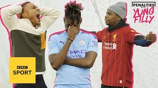 Liverpool fans embarrass Man City fans in dizzy penalties   PENALTIES WITH YUNG FILLY
