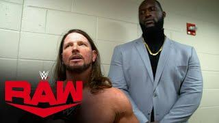 """Who is AJ Styles' new """"friend?"""": WWE Network Exclusive, Oct. 19, 2020"""