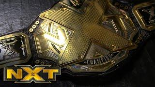 Finn Bálor's side plates are added to the NXT Title: WWE Network Exclusive, Sept. 16, 2020