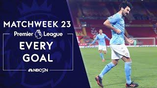 Every Premier League goal from Matchweek 23 (2020-2021) | NBC Sports