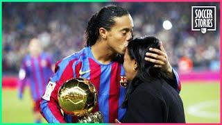 How Ronaldinho's mother made him the happiest man in the world | Oh My Goal