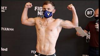 RETURN OF THE JACKAL! - CARL FRAMPTON v DARREN TRAYNOR (OFFICIAL) WEIGH-IN / BT SPORT / FRANK WARREN