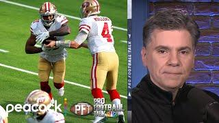 San Francisco 49ers hold onto NFC West win over Rams in Week 12 | Pro Football Talk | NBC Sports
