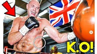 *UNSEEN* TYSON FURY ~LEAKED TACTICS~ in CAMP TO KNОСKОUT AJ JOSHUA *STRENGTH and CONDITIONING*