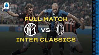 INTER CLASSICS with ADRIANO | FULL MATCH | INTER vs AC MILAN | 2008/09 SERIE A TIM #DERBYMILANO