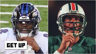 'The Lamar Jackson-Dan Marino experiment should be over' - Ryan Clark after Ravens-Colts | Get Up