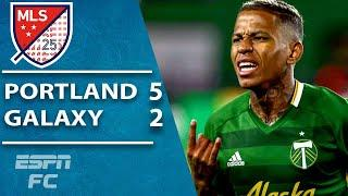 Andy Polo scores JAW-DROPPING GOAL in Portland's big win vs. LA Galaxy | ESPN FC MLS Highlights